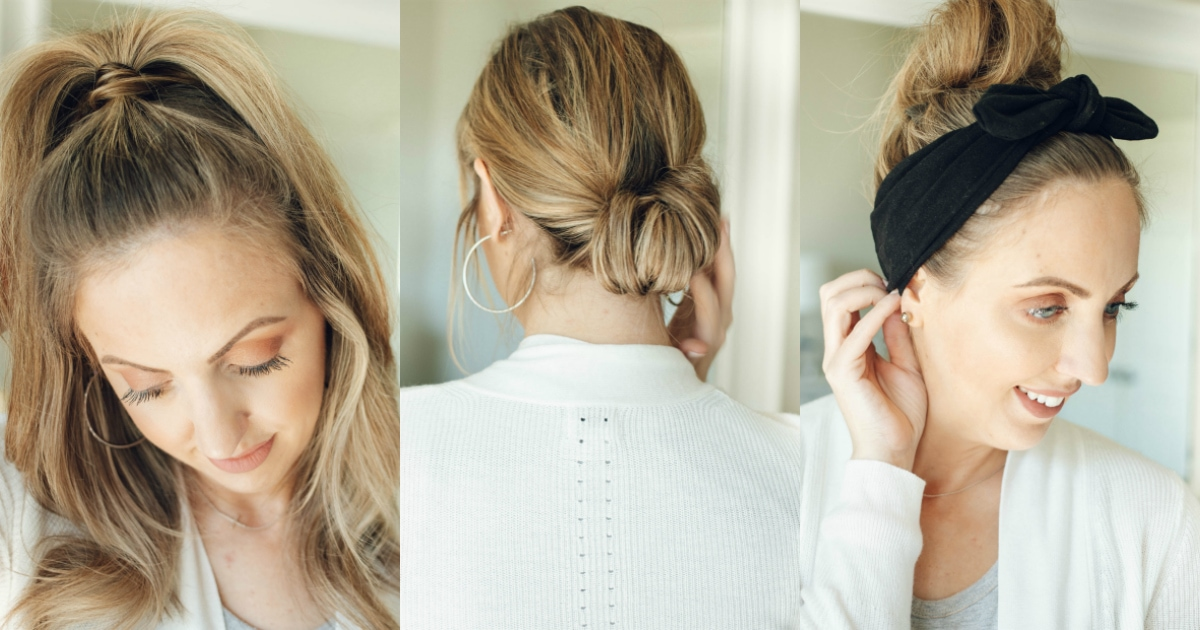 3 Easy Hairstyles For Second Day Hair And Beyond Fine Hair Approved