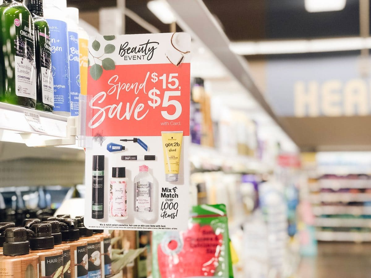 Houston beauty blogger Meg O. shares easy hairstyles for second day hair, and shares the Kroger Beauty Event - spend $15, save $5!