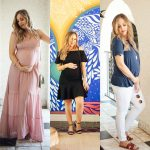 3 Maternity Outfits for Spring & Summer