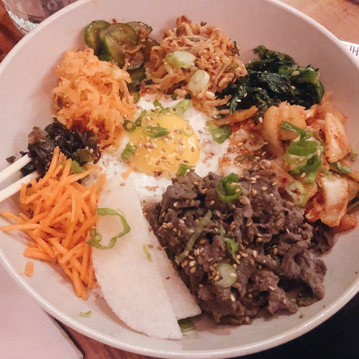 Bibimbap at Swallows Nest at Finn Hall - Houston, TX
