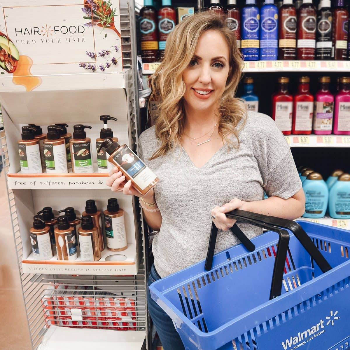 Houston beauty blogger Meg O. on the Go shares how to keep your hair healthy in summer - make sure to grab the Hair Food Nourishing Collection with Coconut Milk & Chai Spice at you local Walmart!