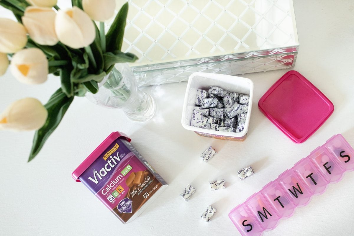 Houston mommy blogger Meg O. on the Go shares habits for a healthy pregnancy - nutrition and supplements like Viactiv calcium help!