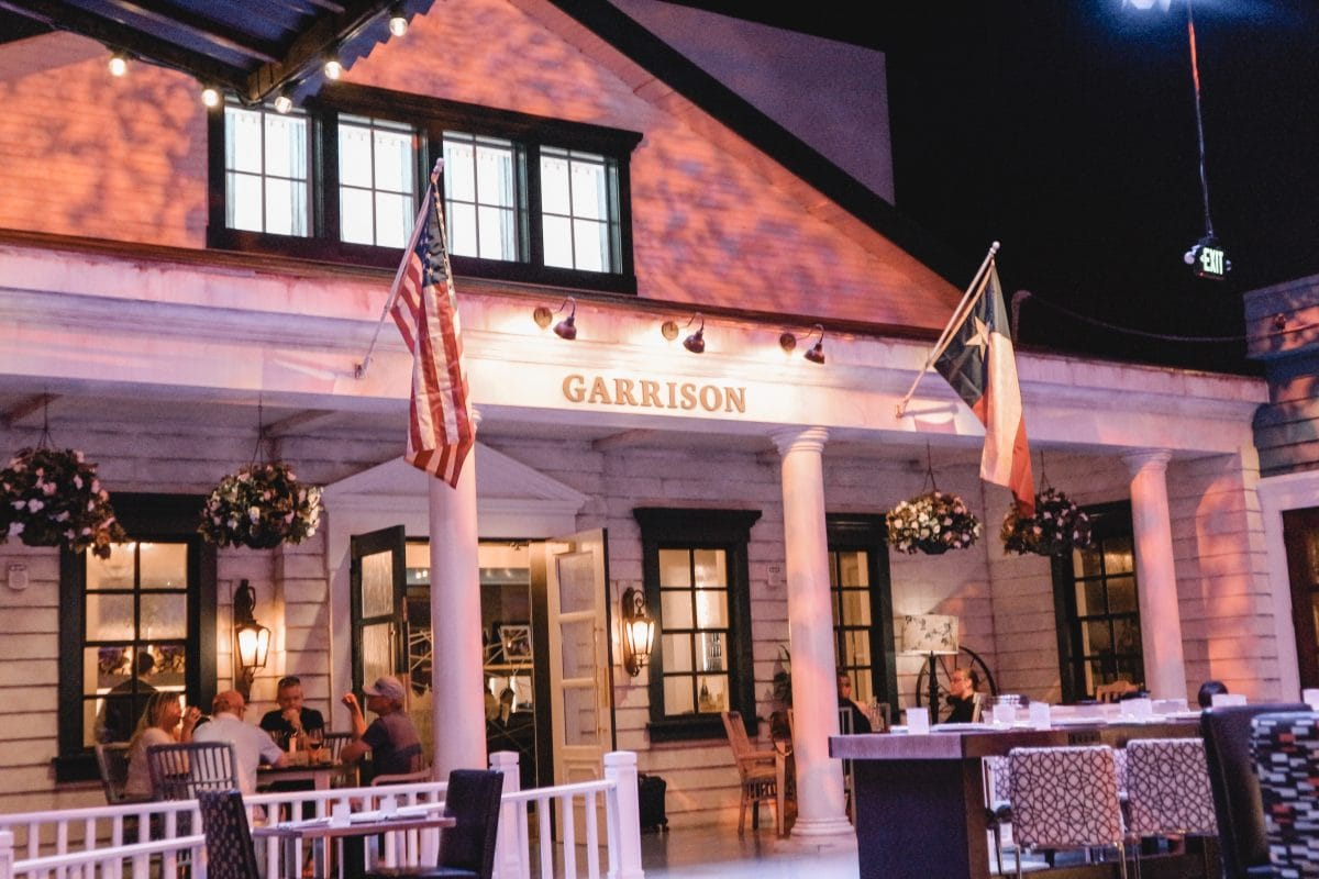 Houston lifestyle blogger Meg O. on the Go shares her couples' getaway to the Fairmont Austin TX - restaurants in the Fairmont hotel Austin - Garrison