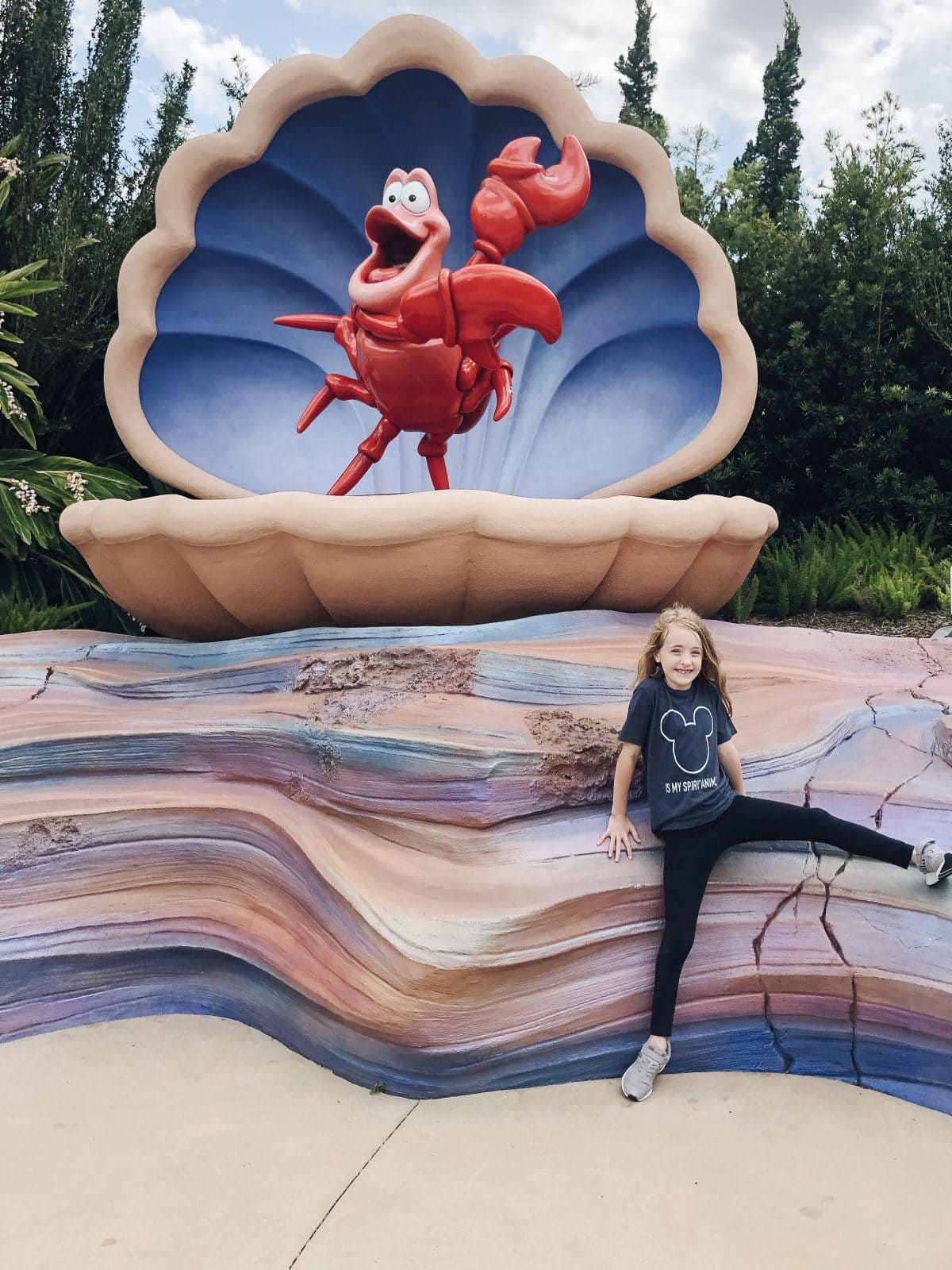 The Little Mermaid at Art of Animation Resort in Walt Disney World