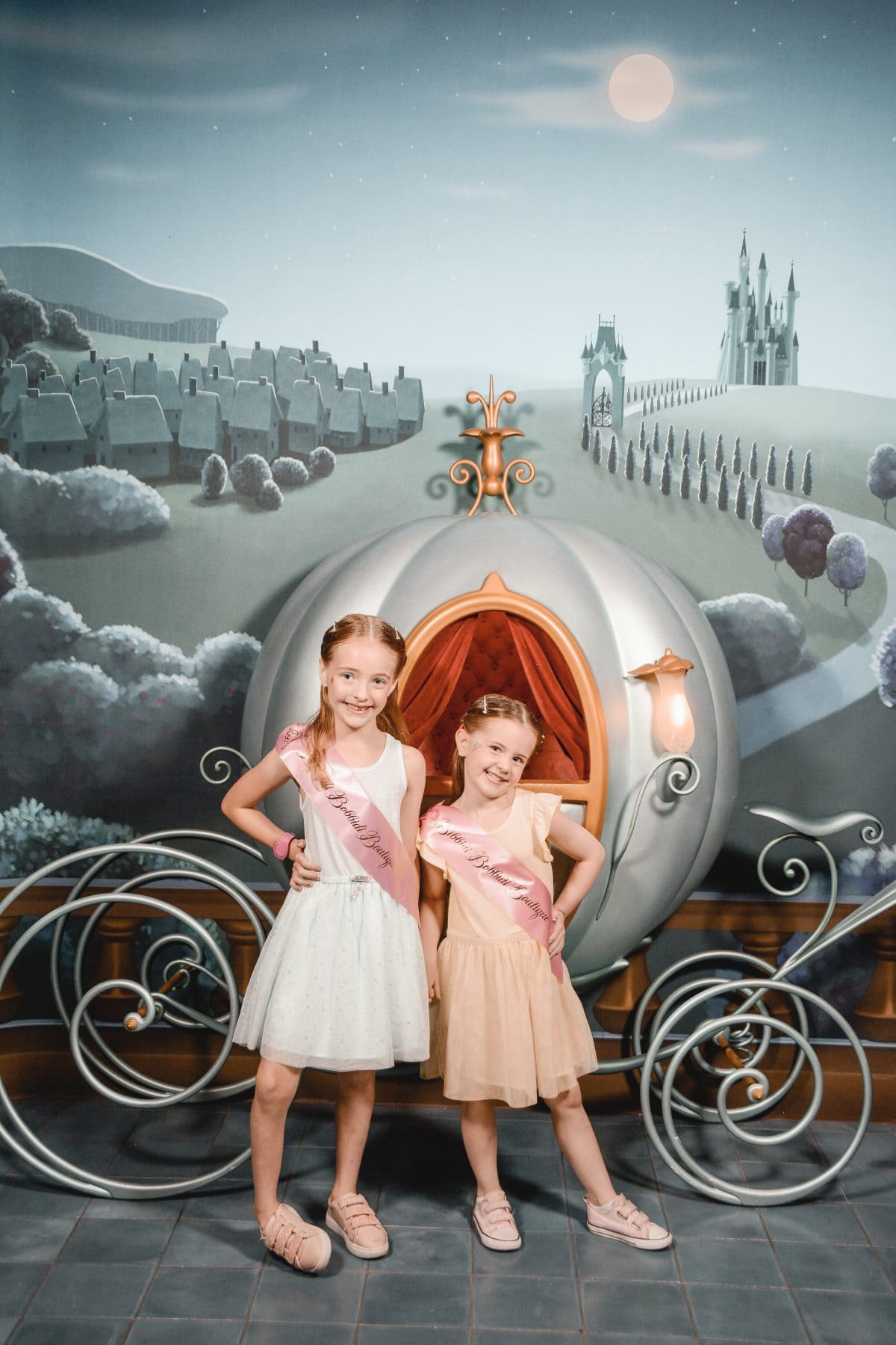 Houston lifestyle blogger Meg O. on the Go shares her favorite Disney World for kids experiences for preschoolers and up - Bibbidi Bobbidi Boutique in Disney Springs