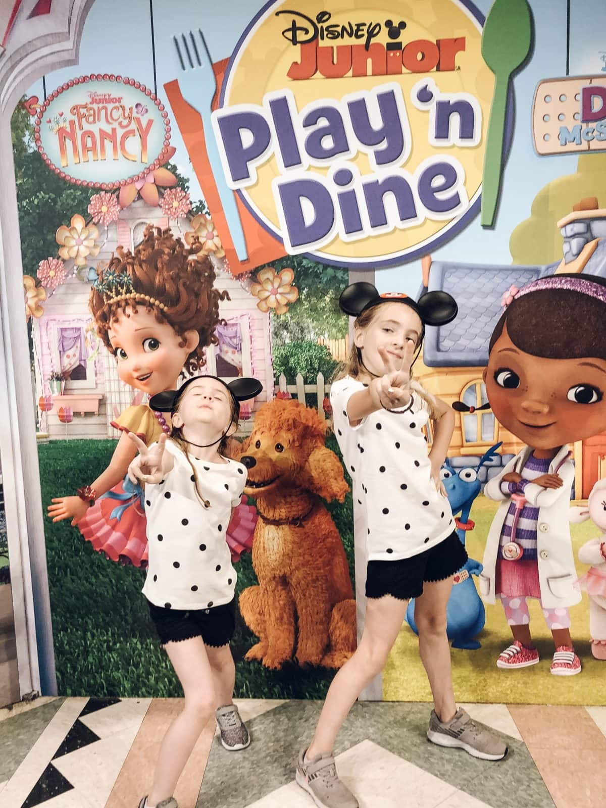 Houston lifestyle blogger Meg O. on the Go shares her favorite Disney World for kids experiences for preschoolers and up - Disney Junior Play 'n Dine character breakfast at Hollywood & Vine in Hollywood Studios