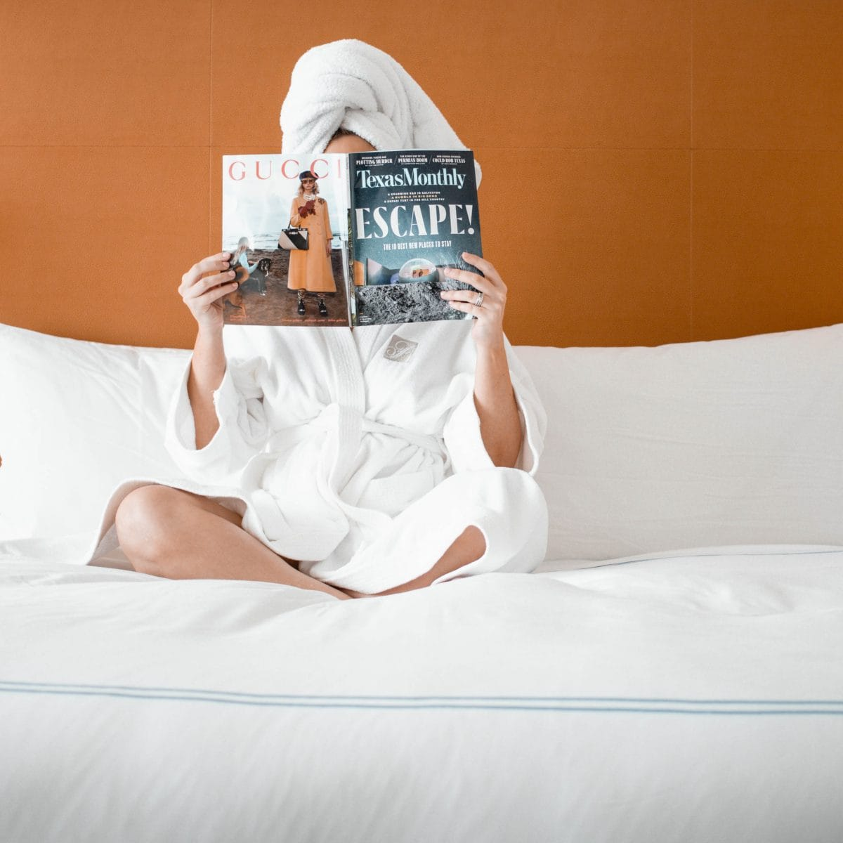 Houston lifestyle blogger Meg O. on the Go shares her couples' getaway to the Fairmont Austin TX - hotel accommodations