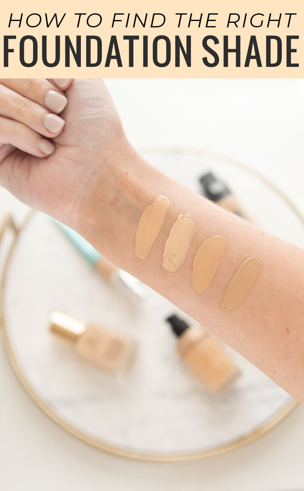 Houston beauty blogger Meg O. on the Go shares how to find the right foundation online and in-store!
