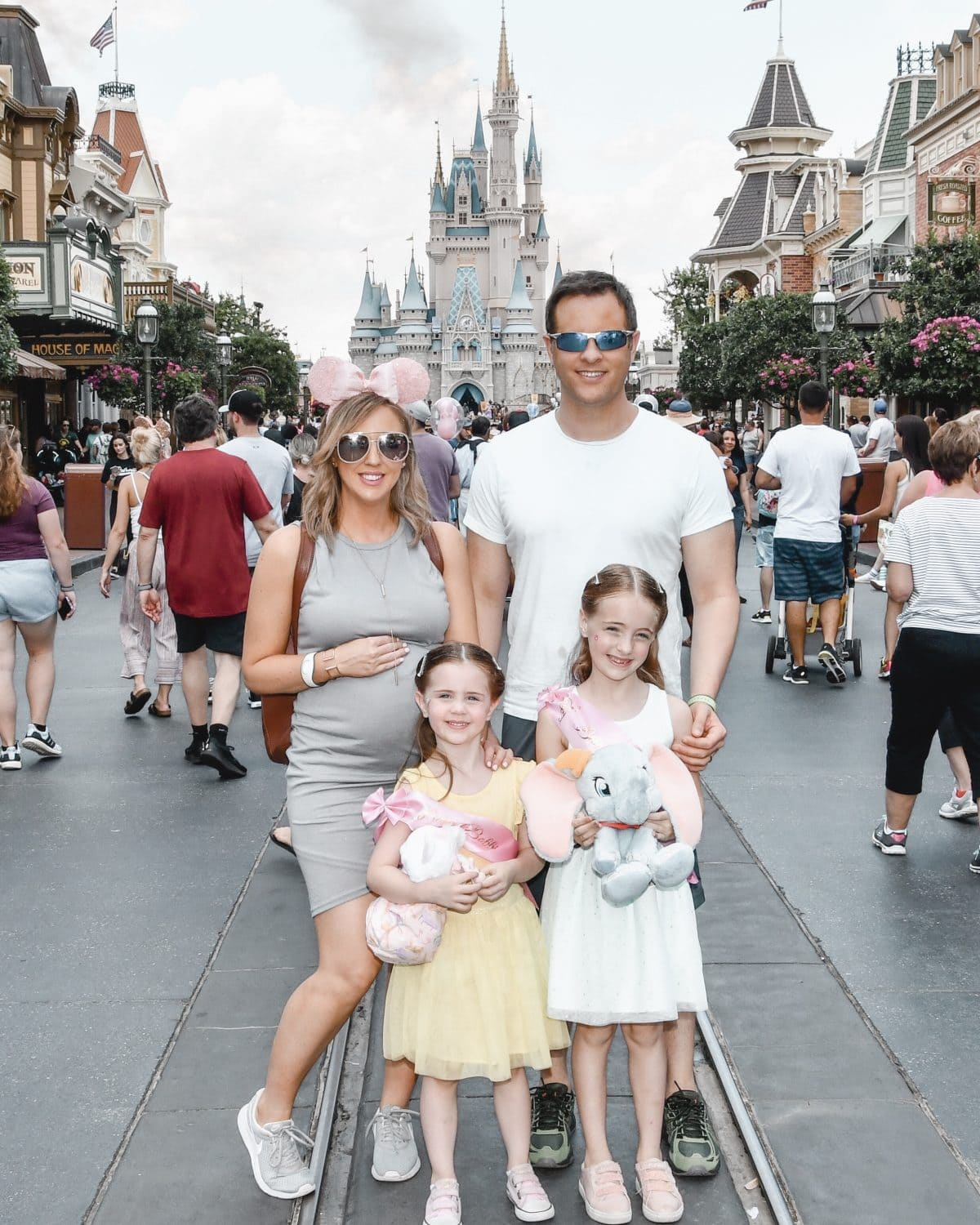 Houston lifestyle blogger Meg O. on the Go shares her favorite Disney World for kids experiences for preschoolers and beyond - Main Street USA in Magic Kingdom
