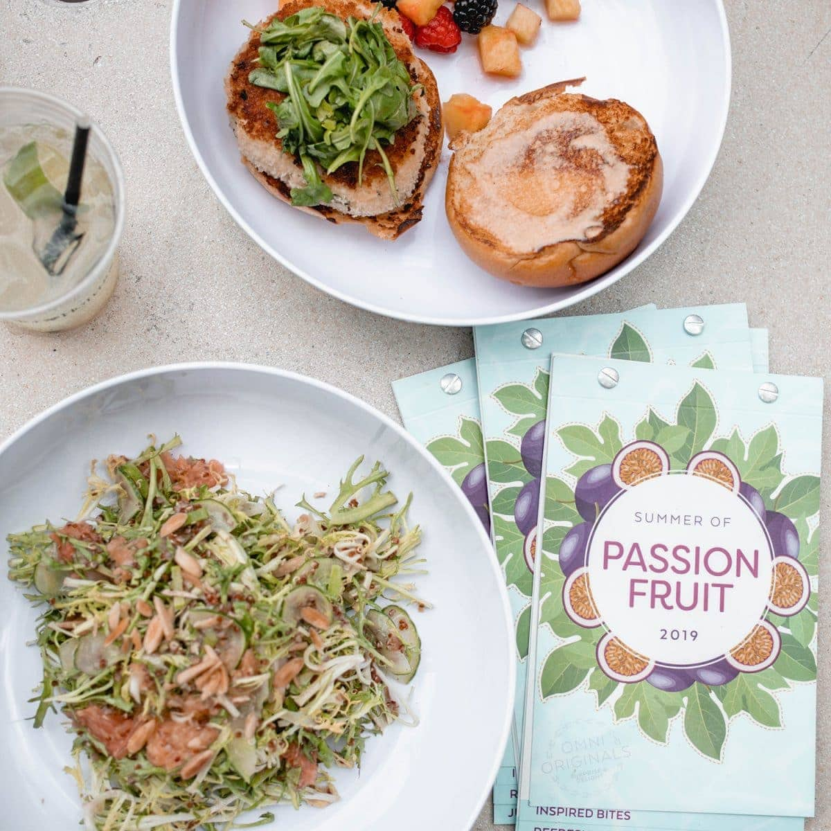Houston blogger Meg O. on the Go shares her staycation at the Omni Houston Hotel - Summer of Passion Fruit menu
