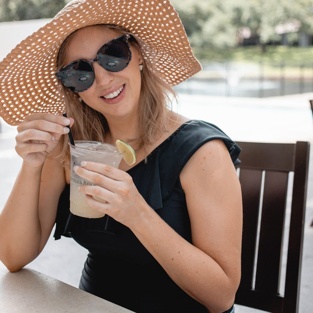 Houston blogger Meg O. on the Go shares her staycation at the Omni Houston Hotel - passionfruit mule mocktail