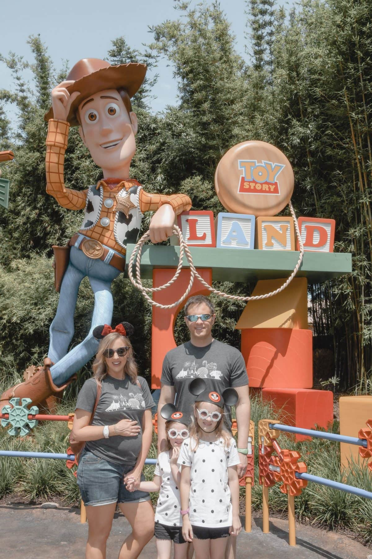 Houston lifestyle blogger Meg O. on the Go shares her favorite Disney World for kids experiences for preschoolers and up - Toy Story Land entrance