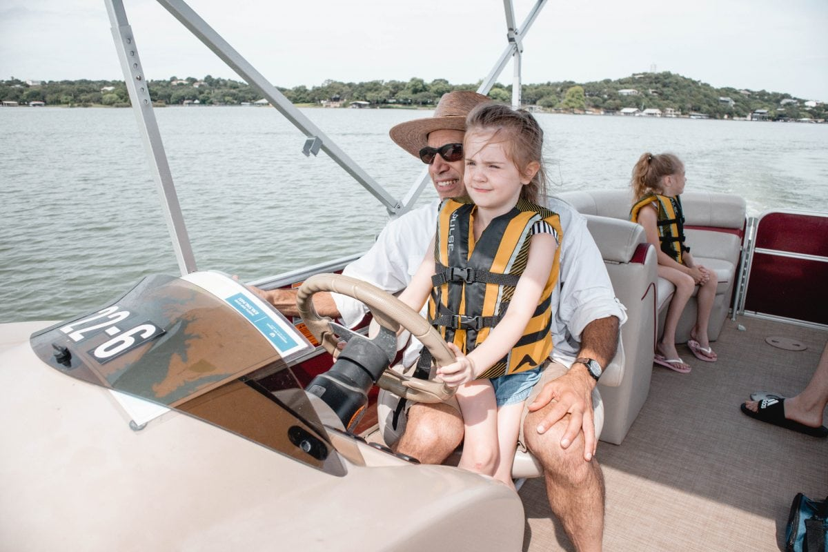 Horseshoe Bay Resort Texas boat rentals - hotel and resort review by Houston blogger Meg O. on the Go