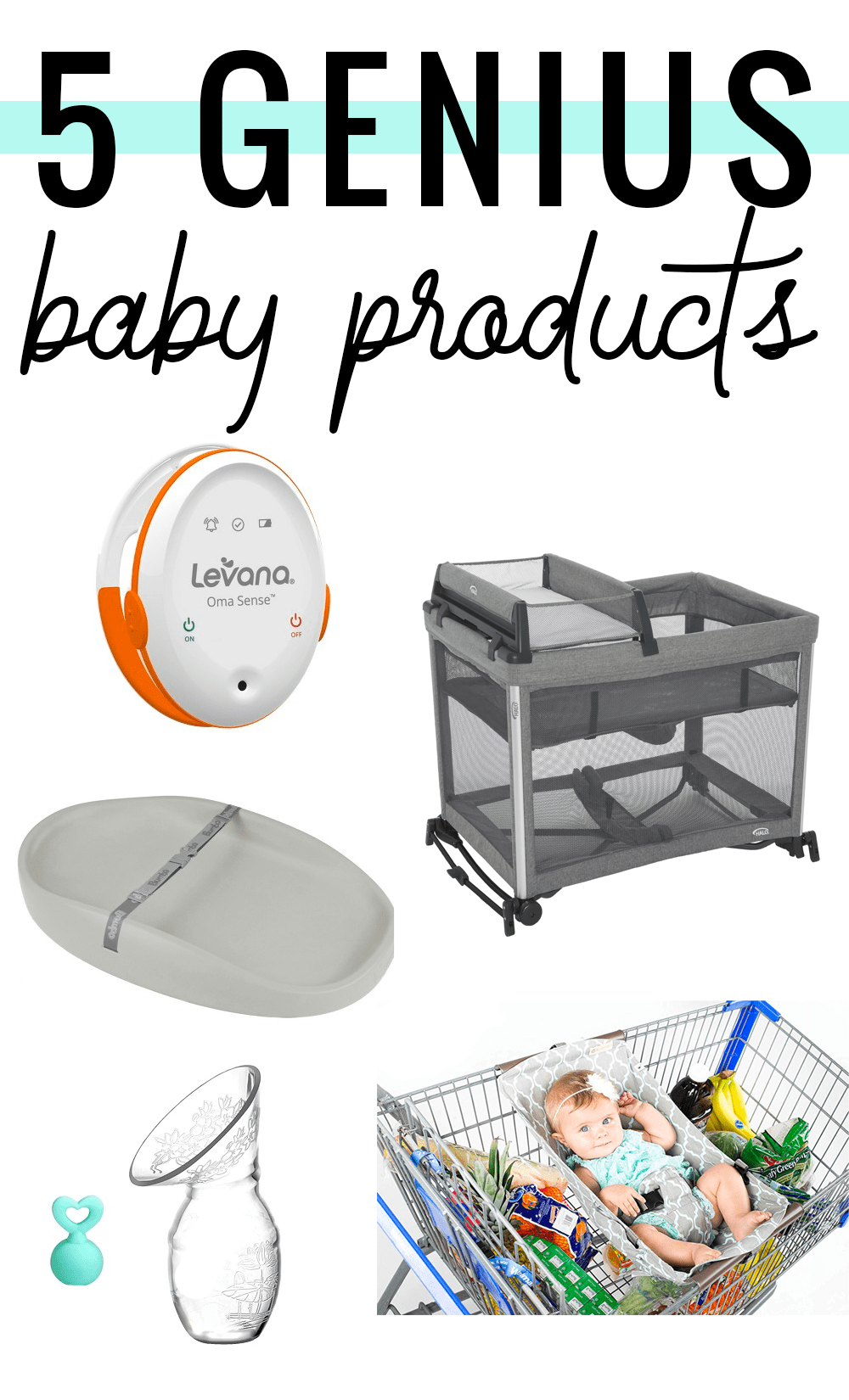 Houston mommy blogger Meg O. shares 5 genius baby products all new and expecting moms are bound to love!