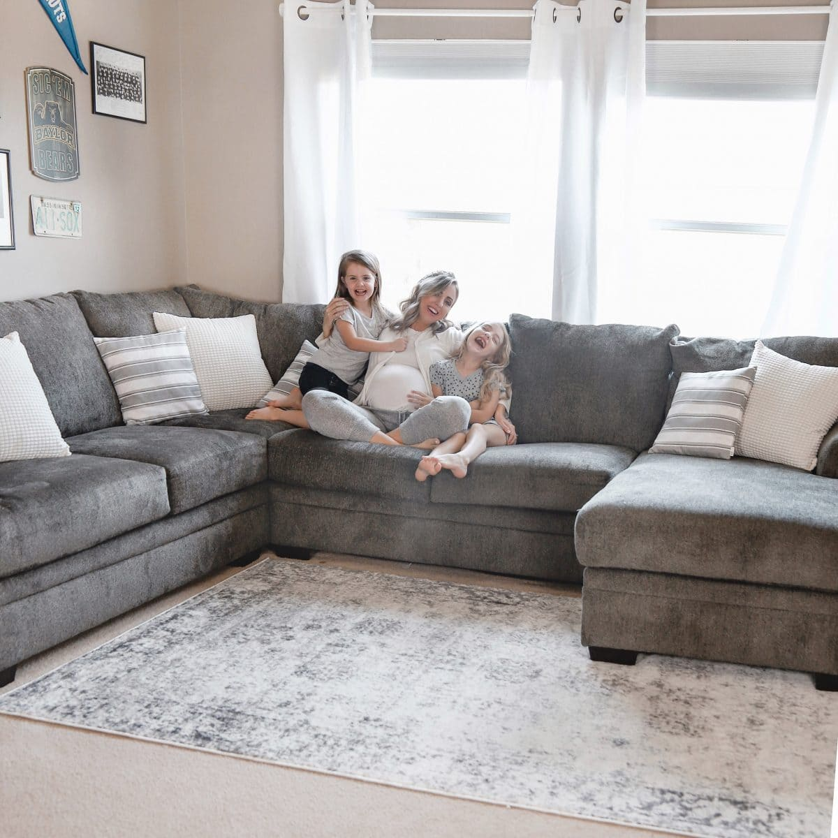 Houston blogger Meg O. on the Go shares a playroom makeover with Exclusive Furniture Houston