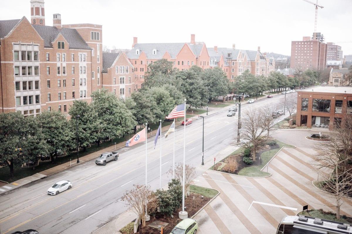 Loews Vanderbilt Hotel Nasvhille - view of Vanderbilt University