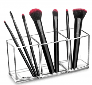 Clear Makeup Acrylic Brush Organizer
