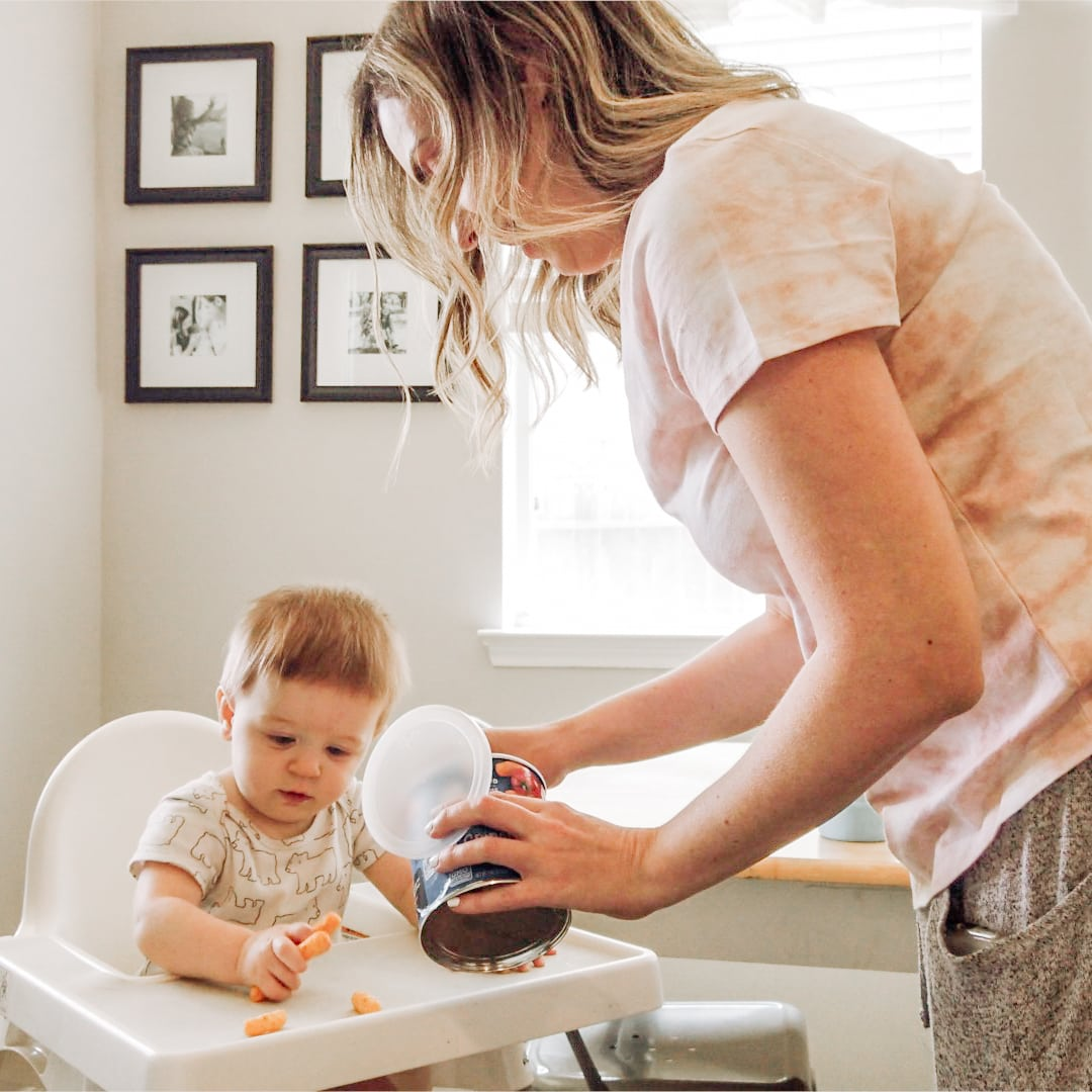 Houston mommy blogger Meg O. shares a day in the life quarantine edition