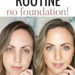 Houston beauty blogger Meg O. on the Go shares an easy makeup routine using NO foundation!