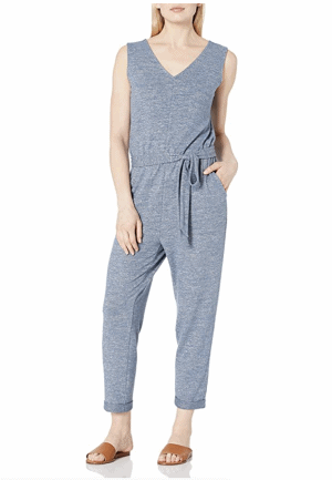 Daily Ritual Tie Waist Jumpsuit