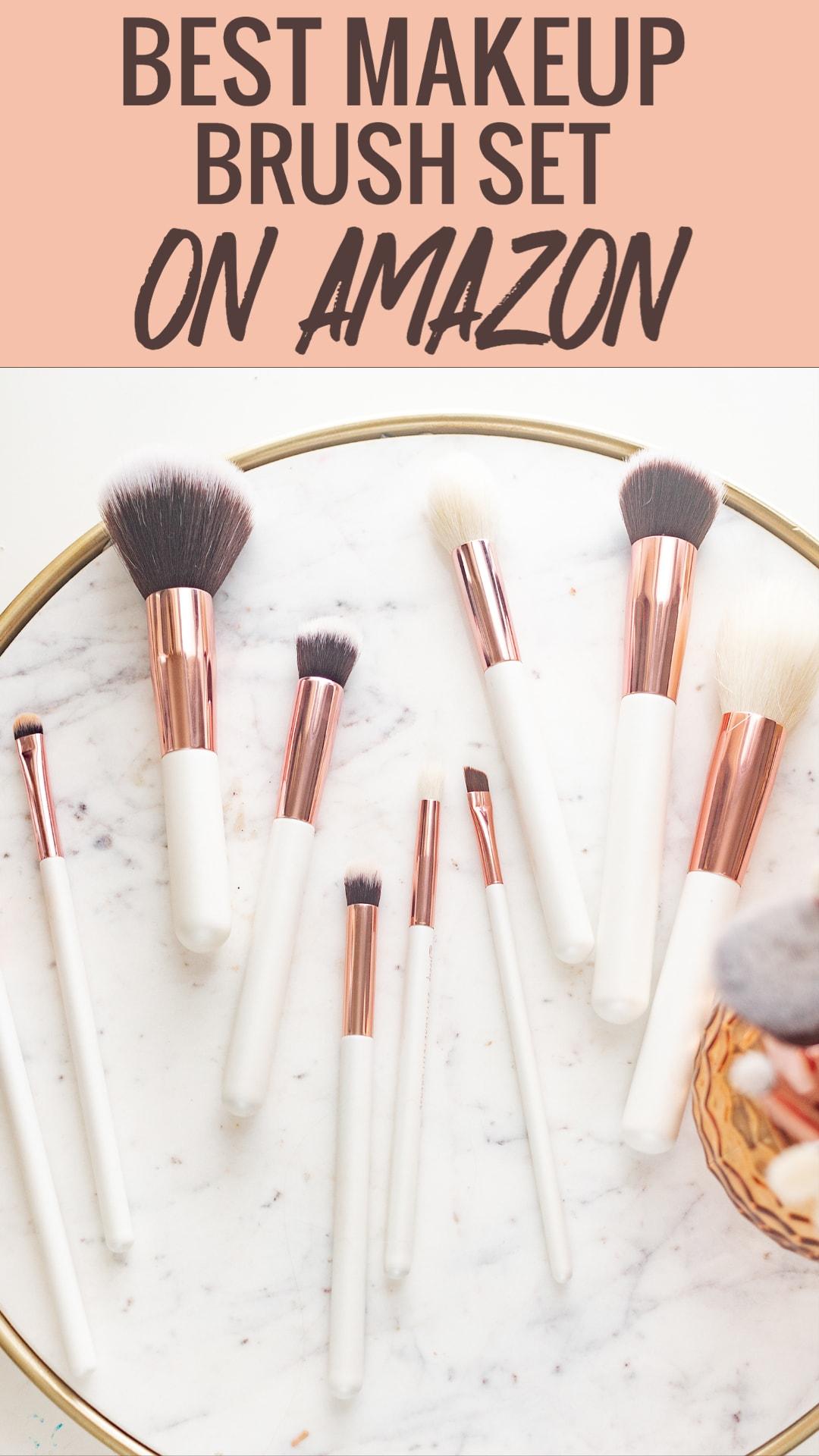 Best makeup brush set on Amazon 2020