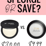 Houston blogger Meg O. shares a drugstore dupe for the It Cosmetics Bye Bye Pores powder