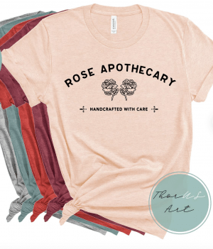 Schitt's Creek Rose Apocathery T-Shirt