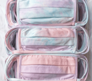 Tie Dye Cloth Face Mask