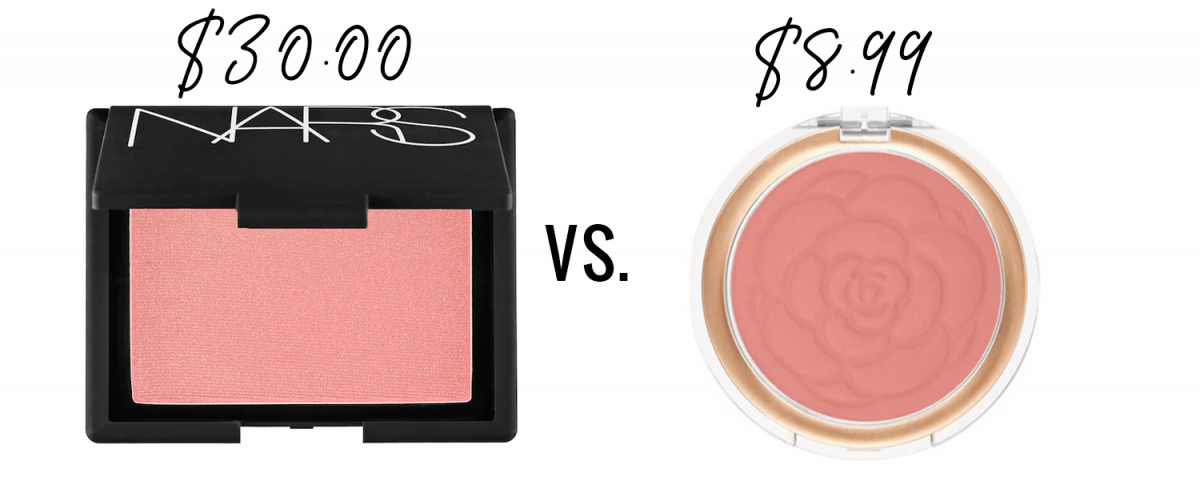 Houston blogger Meg O. shares a Nars Orgasm blush dupe from the drugstore!