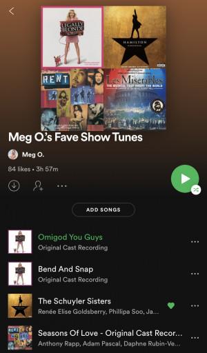Show Tunes Playlist