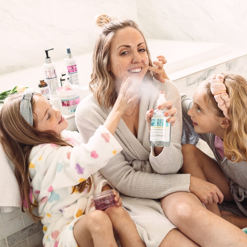 Houston beauty and mommy blogger Meg O. shares mommy and me self-care ideas along with some amazing affordable skincare gems!