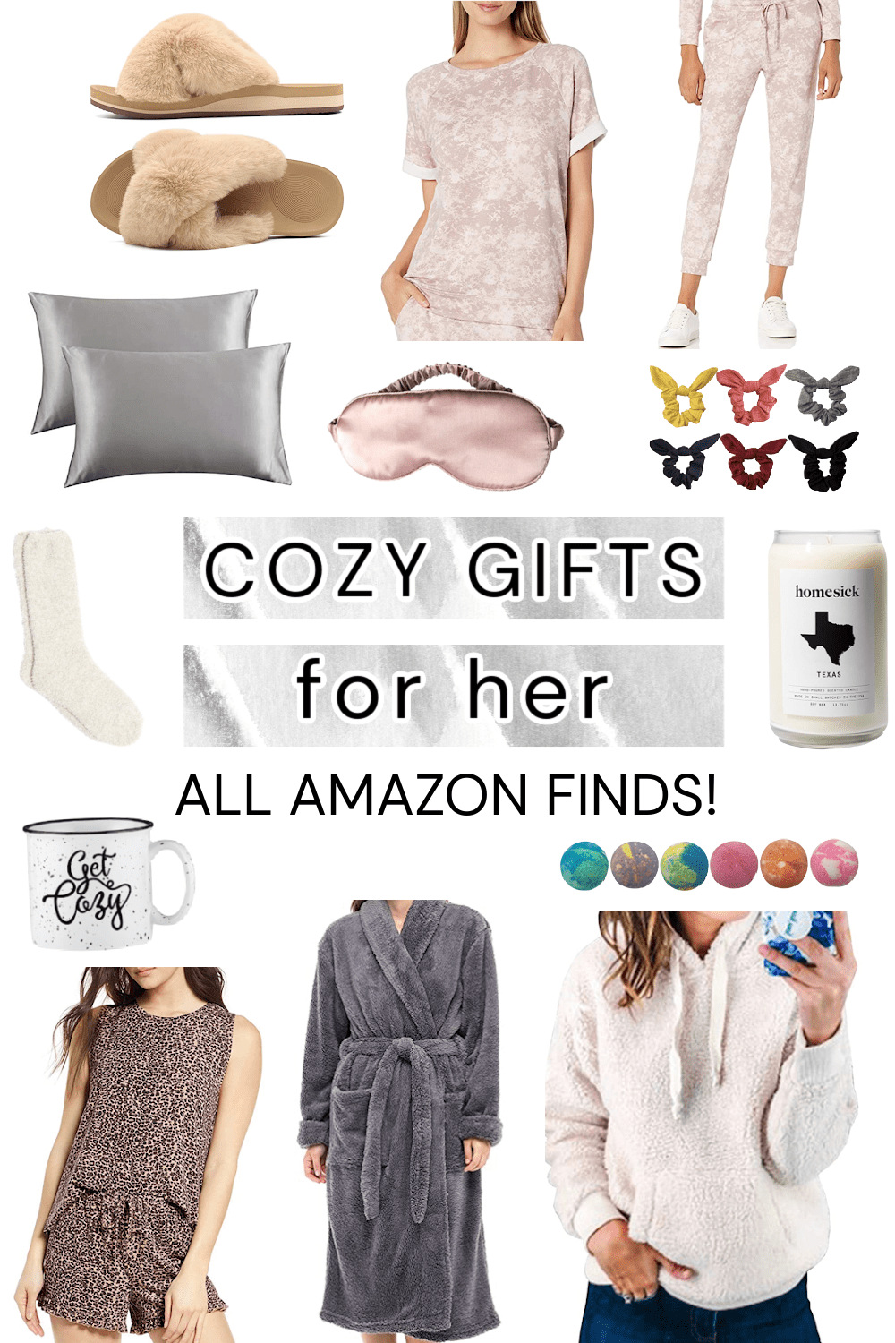 Houston lifestyle influencer Meg O. shares cozy gifts for her - all Amazon finds!