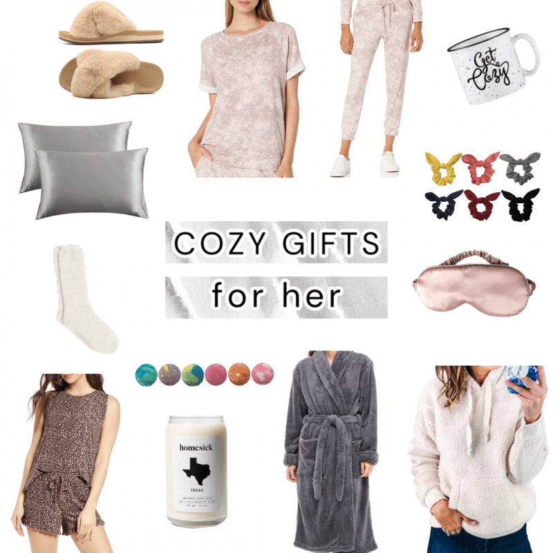 Popular Houston lifestyle influencer Meg O shares her cozy gift guide for her - amazing gift ideas for staying home
