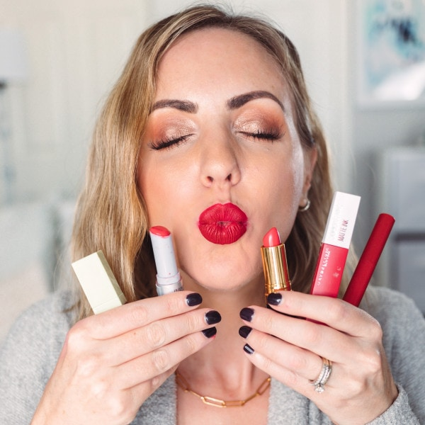 The Best Drugstore Red Lipsticks
