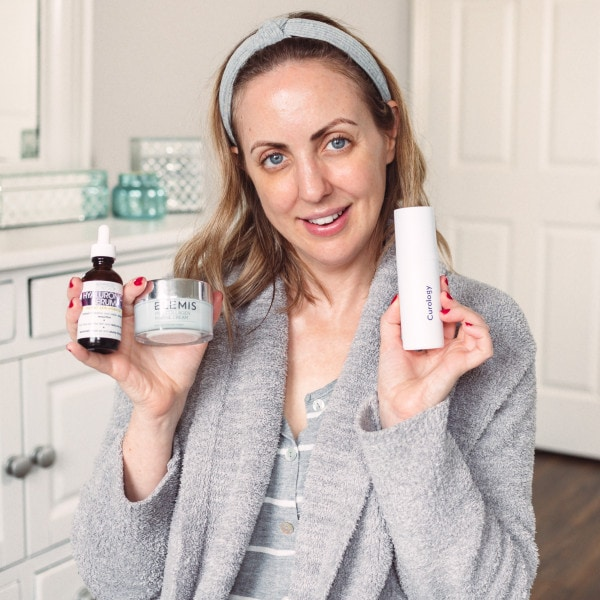 Current Evening Skincare Routine – Anti-aging Skincare Over 35