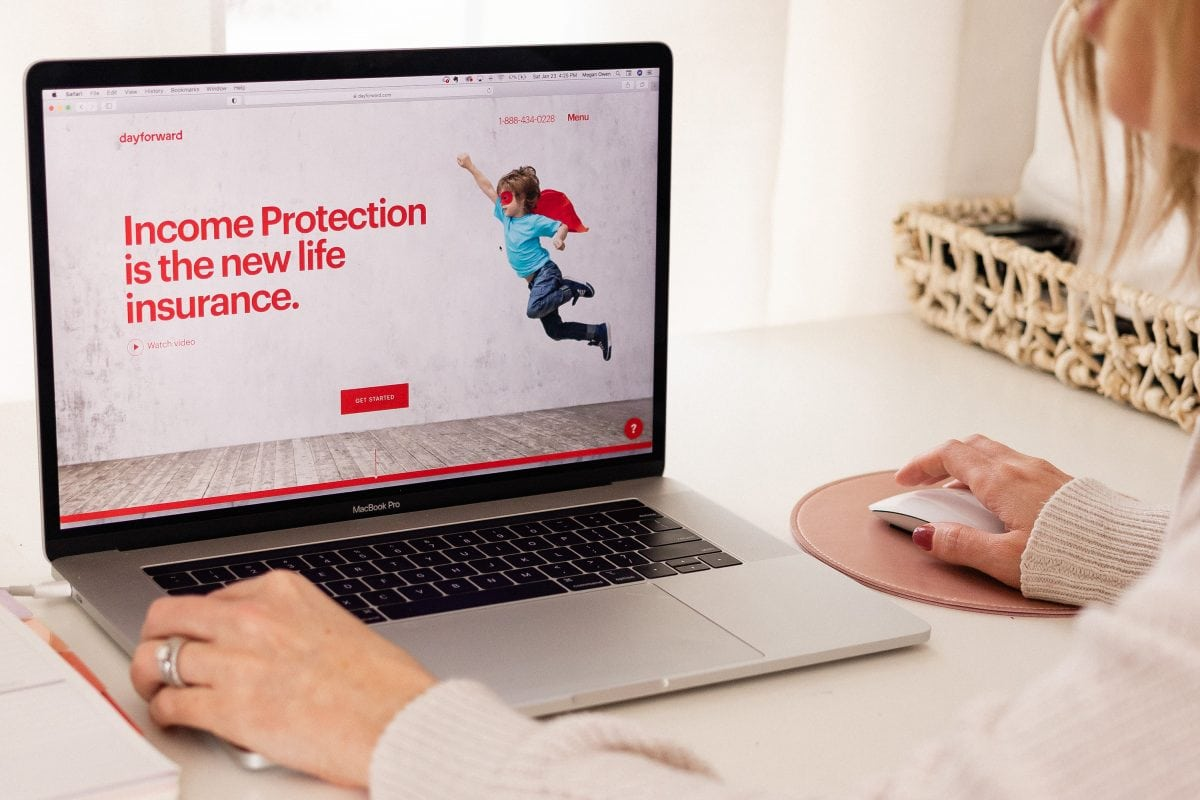 Texas influencer Meg O. shares about a new type of life insurance from Dayforward. Learn how you can protect your family's future with income protection.