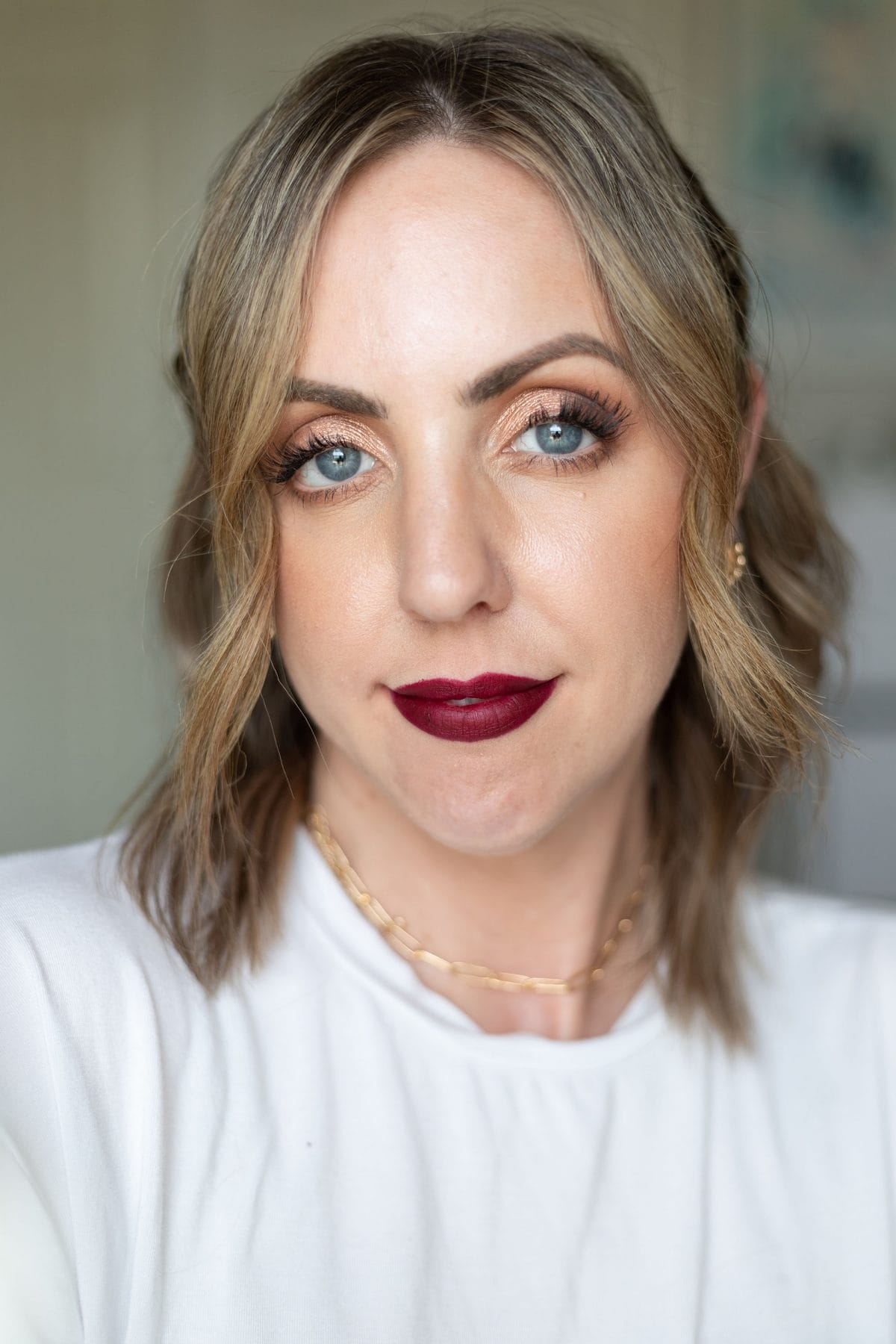 Maybelline Ultimatte Slim Lipstick in More Berry lip swatch