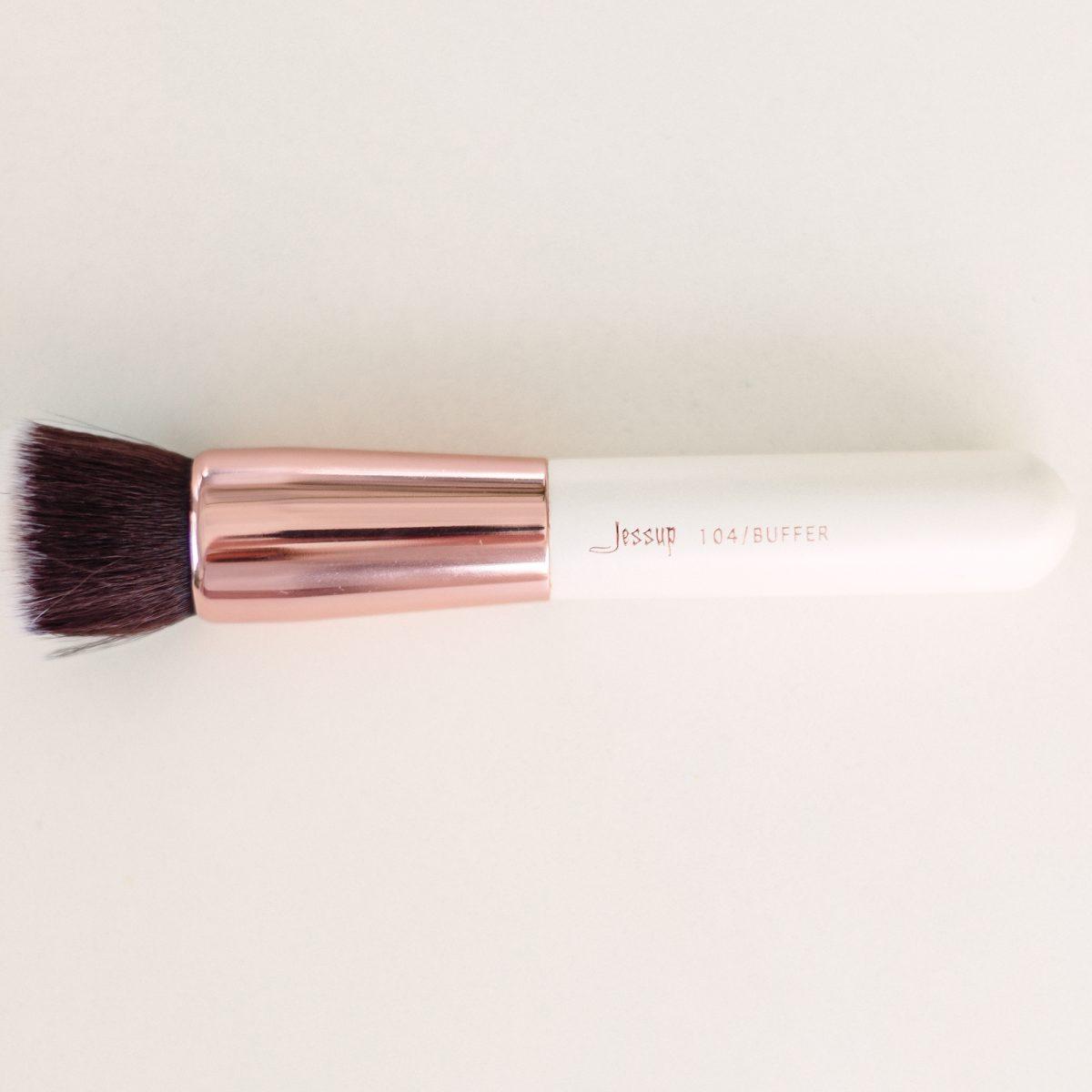 Makeup Brushes Guide - Jessup 104 Buffer Brush