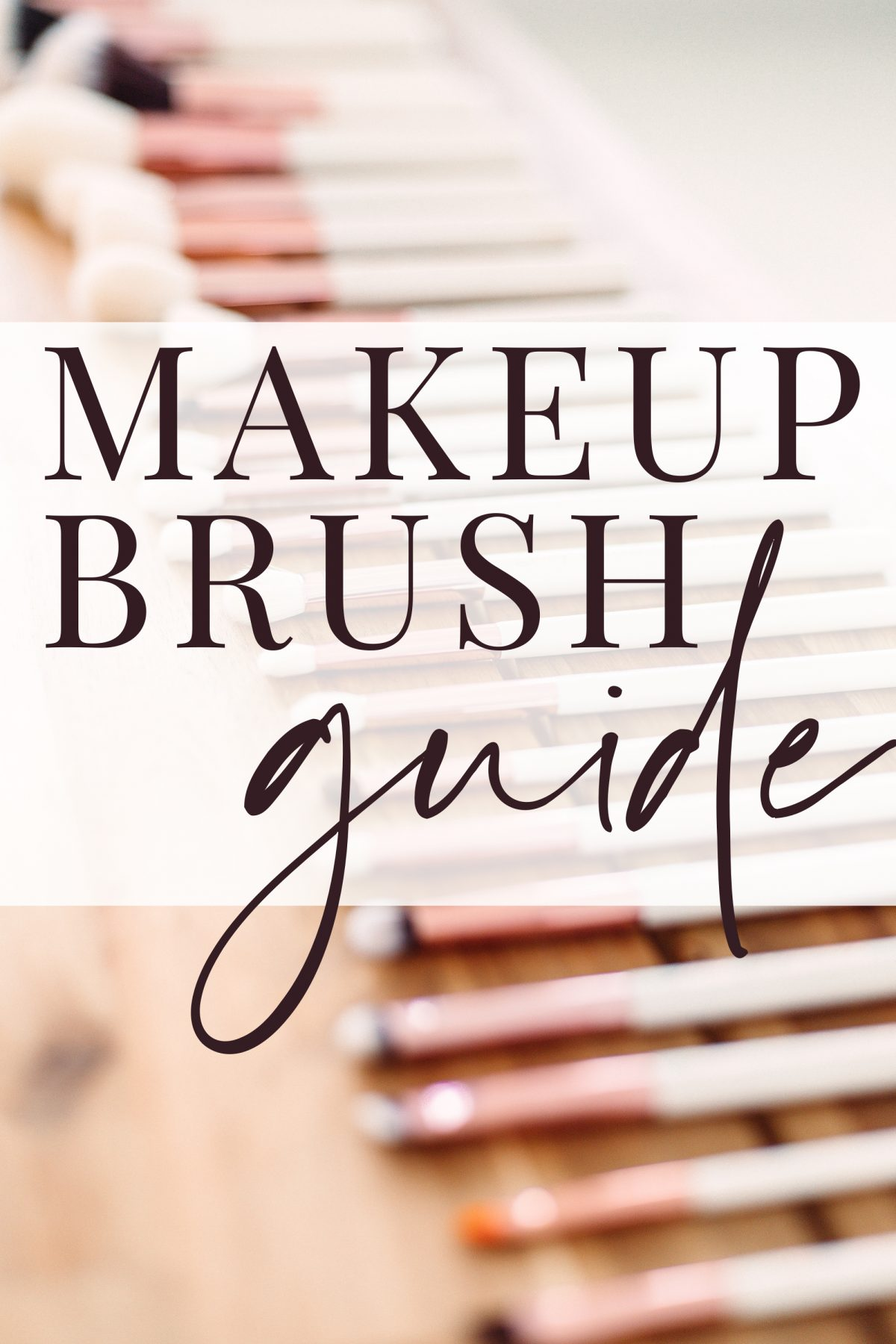 Texas beauty influencer Meg O. shares a makeup brush guide - makeup brushes and their uses