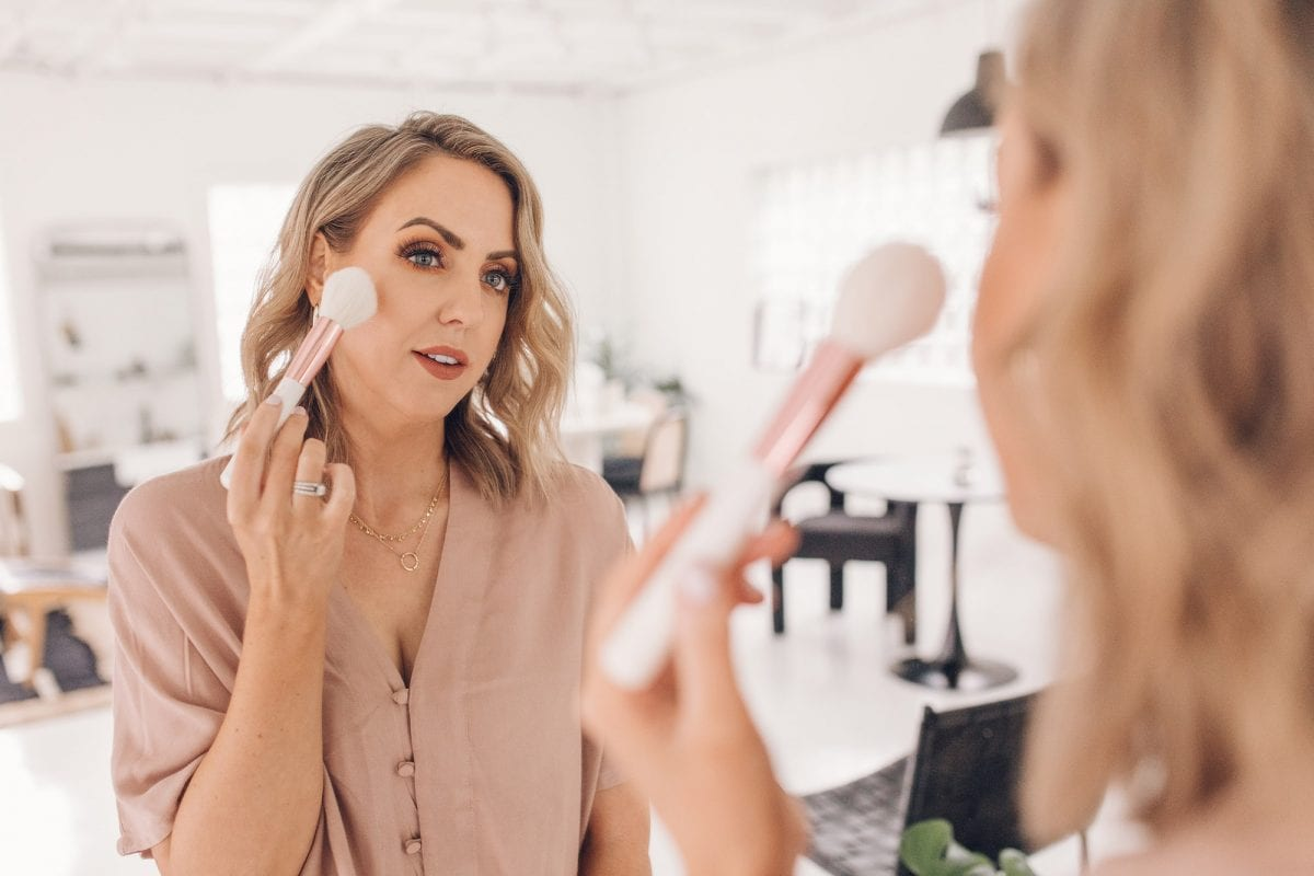 makeup brush guide - makeup brushes and their uses. Learn more from Texas influencer Meg O.