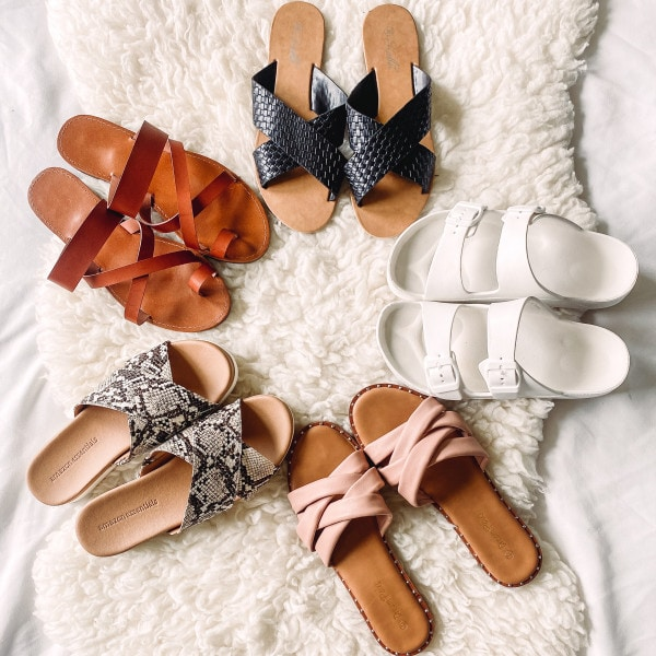 Amazon Sandals for Summer 2021 – 5 Cute and Affordable Finds