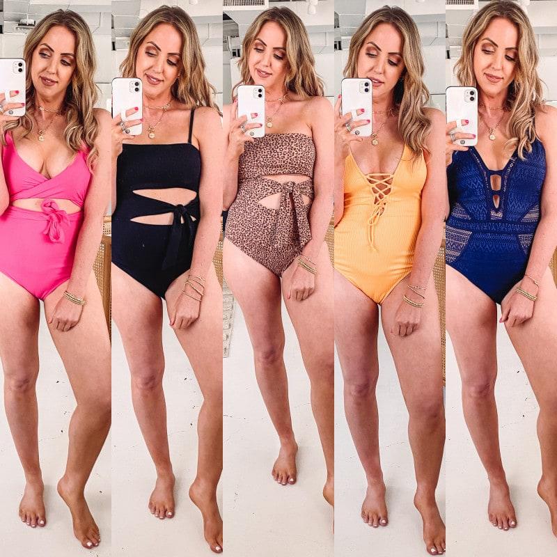 Houston influencer Meg O. shares an Amazon and Aerie swimsuit haul 2021