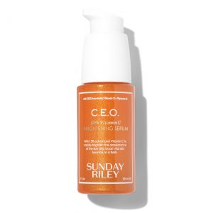 Sunday Riley CEO Vitamin C