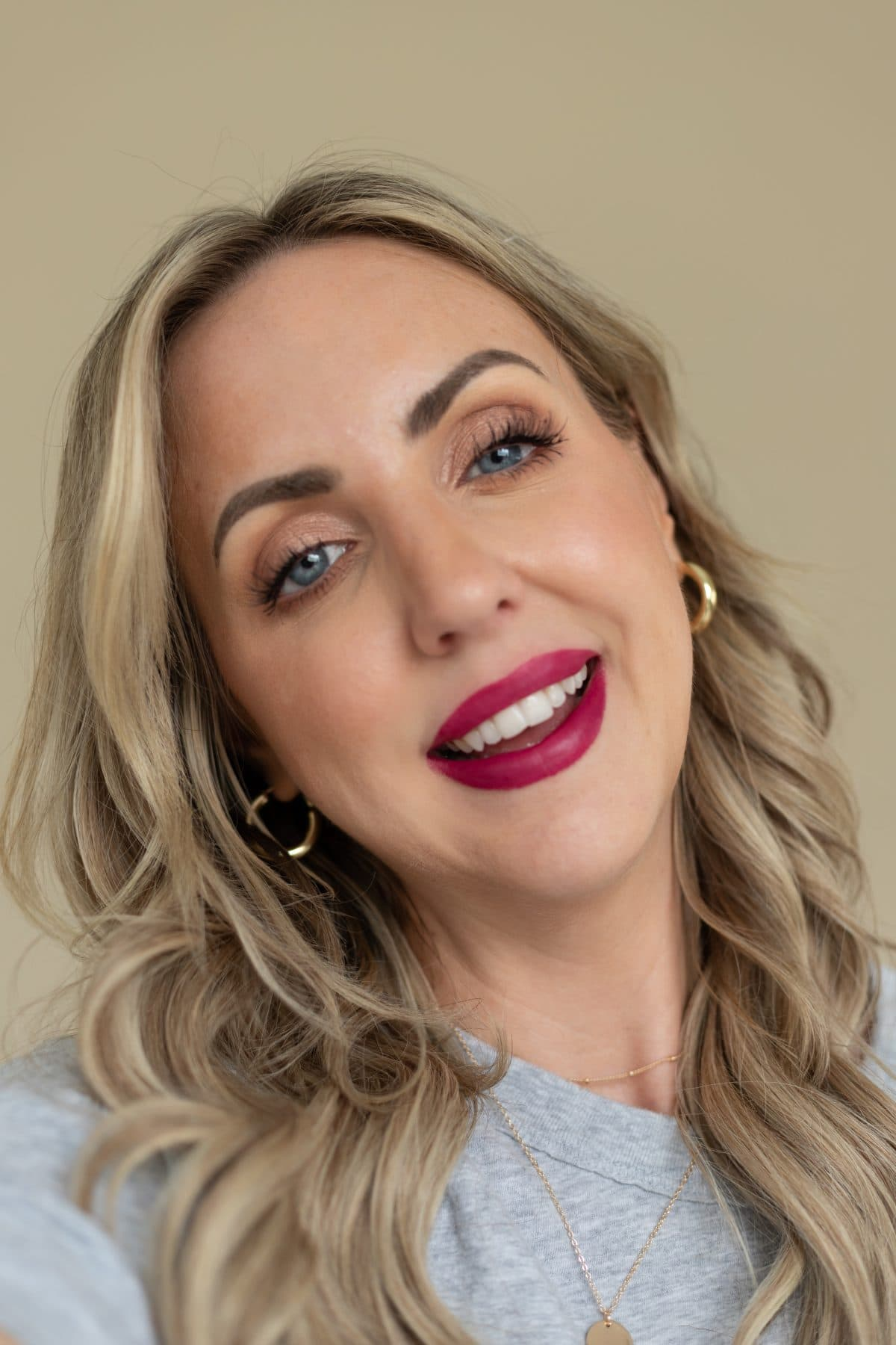 Digital influencer Meg O. shares the best drugstore lipsticks for fall - Maybelline SuperStay Ink Crayon in Accept a Dare