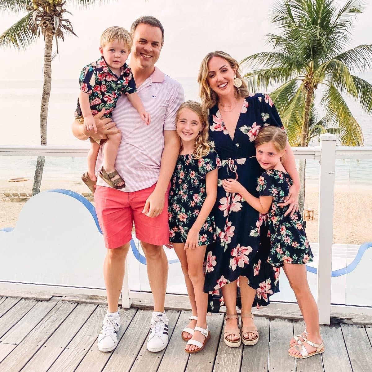 Beaches Ocho Rios family picture
